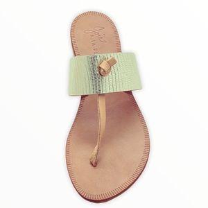 NWOT Joie A La Plage Leather Thong Sandals